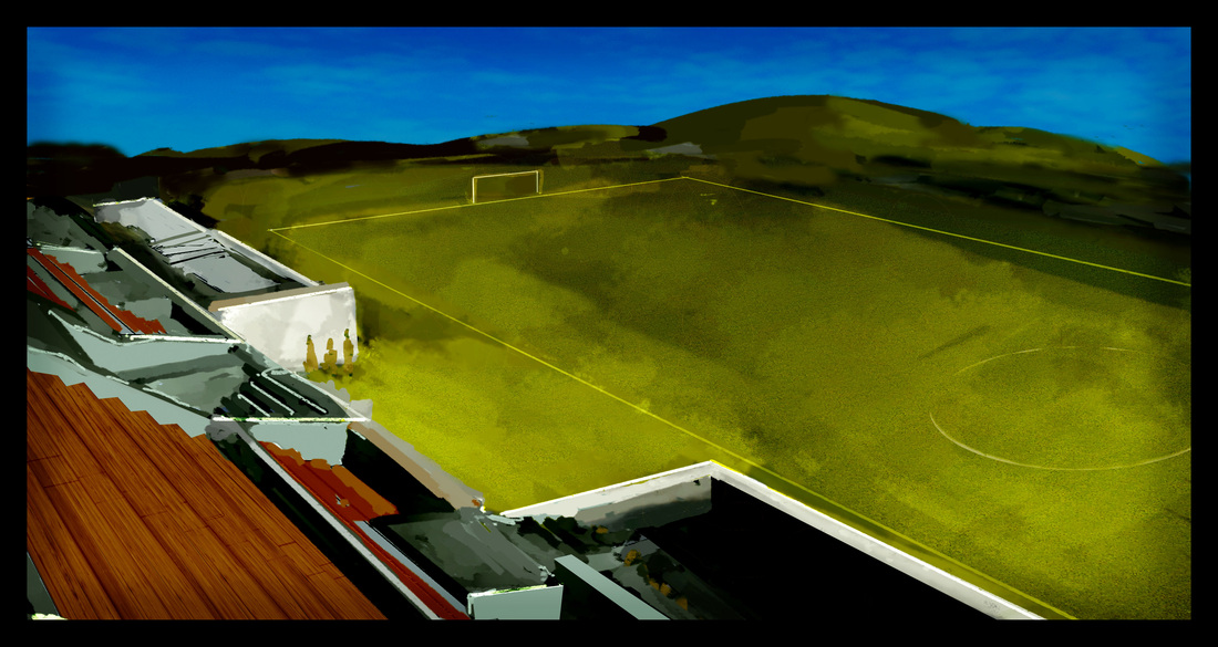 The FC Start Movie Football Pitch
