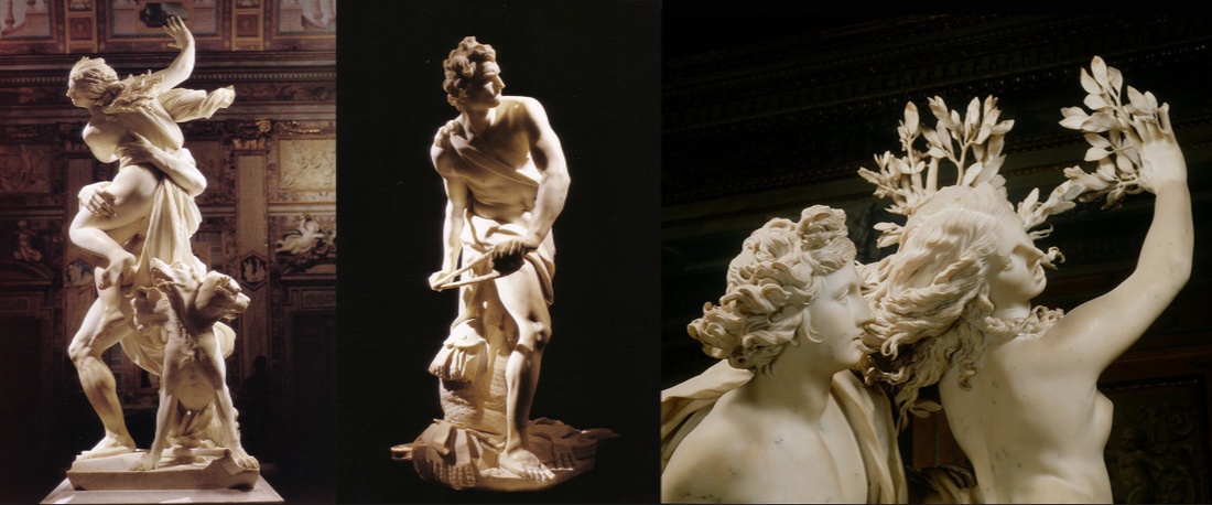 Sculptures by Bernini